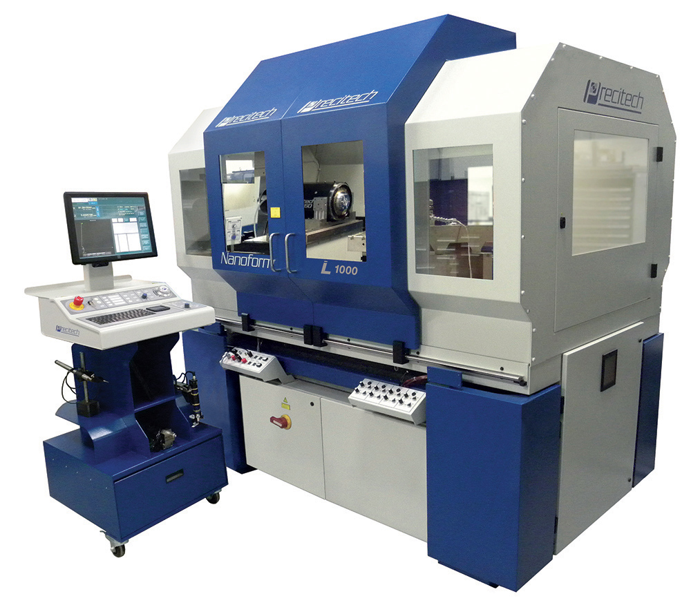 Nanoform 1000 large frame diamond machining center